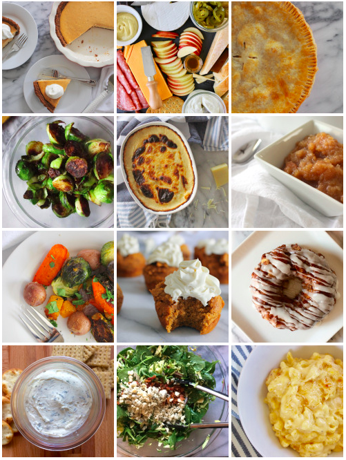 Dishes for Your Thanksgiving Menu