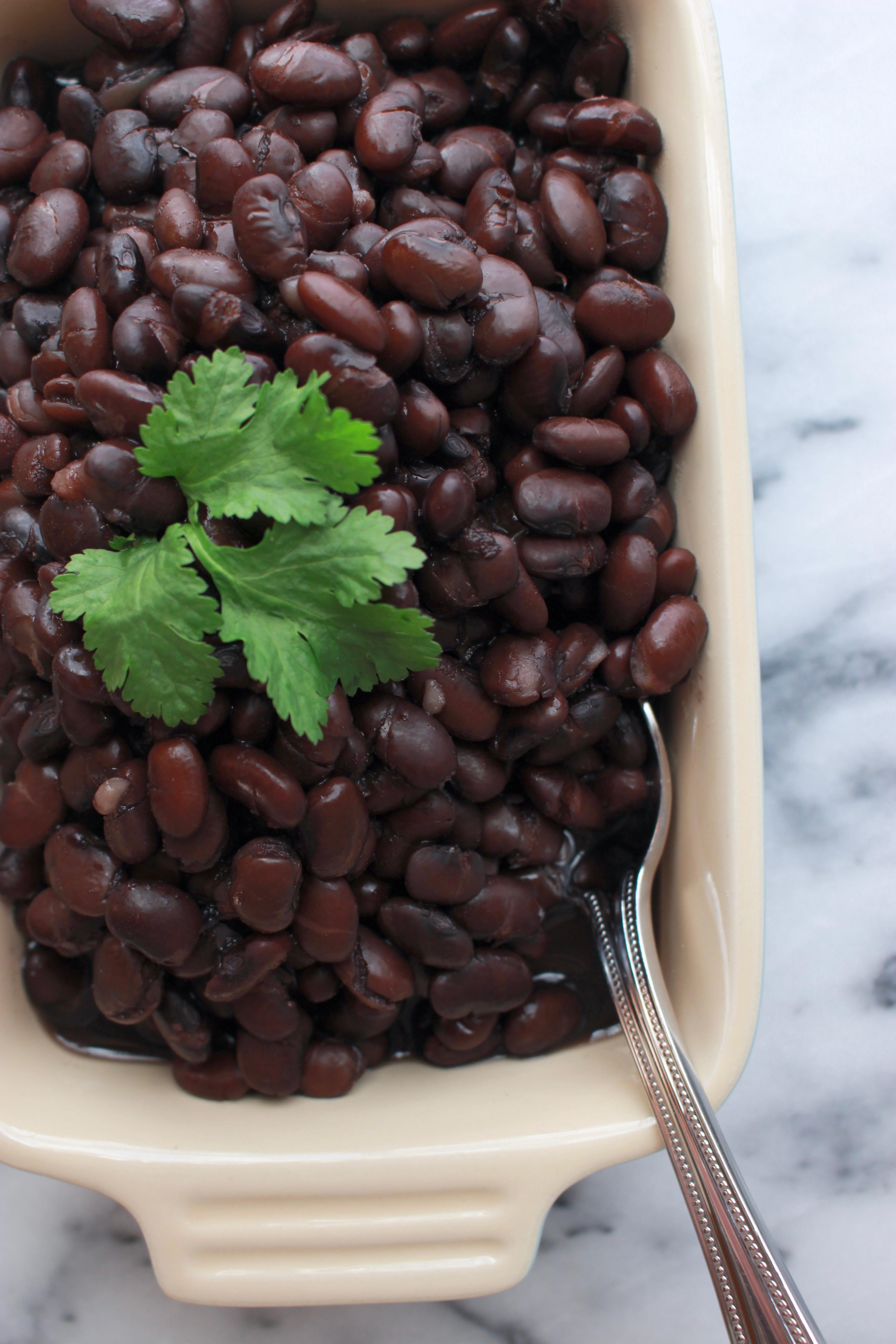 Stovetop Black Beans