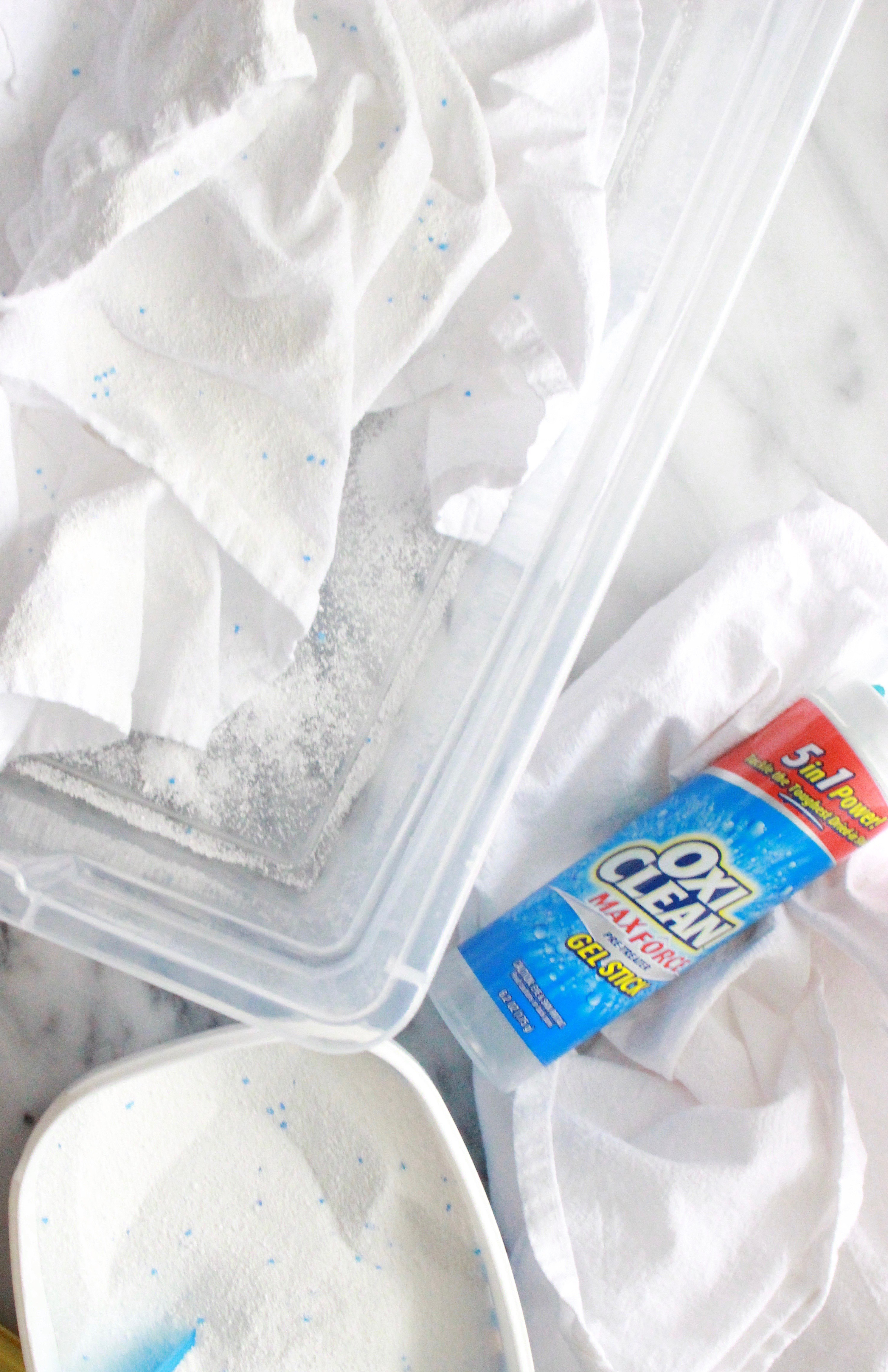An Easy Stain Removal System