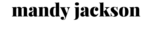 MANDY JACKSON logo